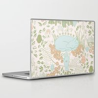 fawn Laptop & iPad Skins featuring Fawn by Laura Solitrin