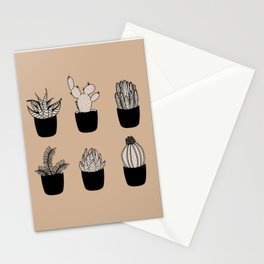 Cacti & Succulents Stationery Cards