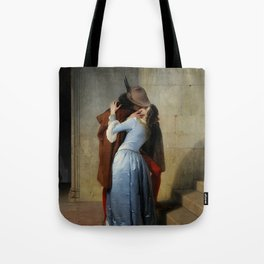 The Kiss (Il Bacio) - Francesco Hayez 1859 Tote Bag