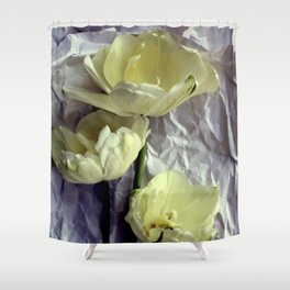 Paper Whites...Tulips, That Is Shower Curtain