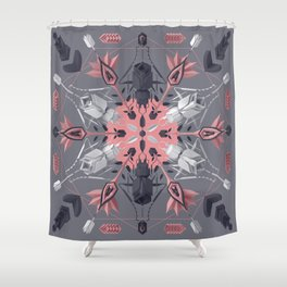 Ms. Gloriosa Shower Curtain
