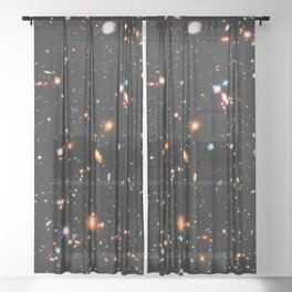 Hubble Extreme Deep Field Sheer Curtain