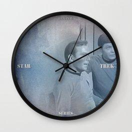 Star Trek Original Series - Kirk and McCoy Wall Clock