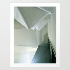 Illuminated Pyramids Art Print