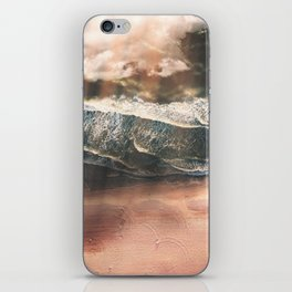 Rustic sea iPhone Skin
