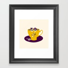 Taza Framed Art Print