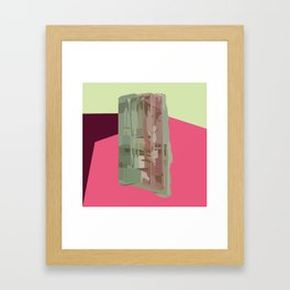 Tourmaline Gem Framed Art Print