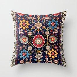 Shirvan Caucasian Afshan Rug Throw Pillow