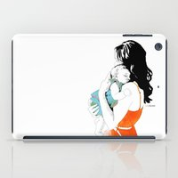 mother iPad Cases featuring Mother by la belette rose