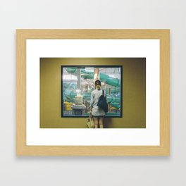 Waterpark Framed Art Print