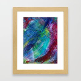 Ocean Floor Framed Art Print