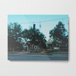It's all a Blur Metal Print