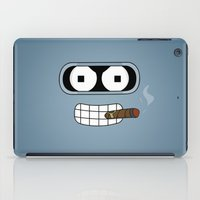bender iPad Cases featuring Bender Robot by OverClocked