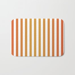Stripes in Summer Soltice Bath Mat
