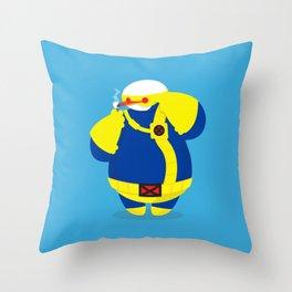 Cyclops x baymax (Cymax) Throw Pillow