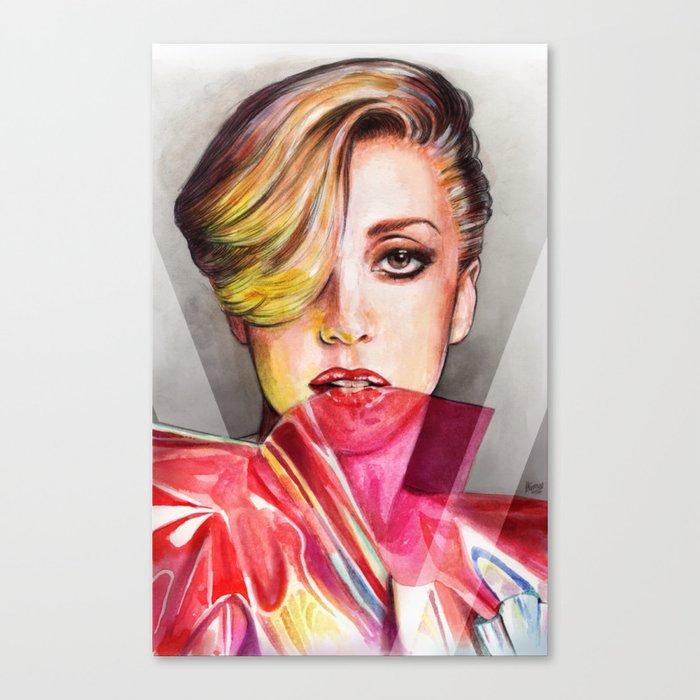 V Mag Canvas Print