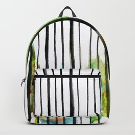 striped colors Backpack