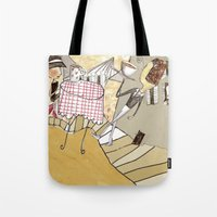 france Tote Bags featuring France by Lee-or Atsmon Fruin