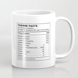 Thorne Facts Coffee Mug