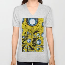 Indifinite Intersection of Emotion Unisex V-Neck