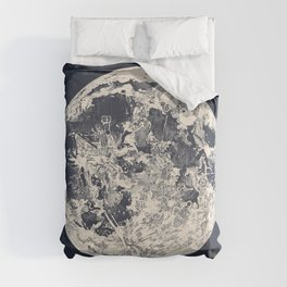 Telescopic Appearance of the Moon Comforters