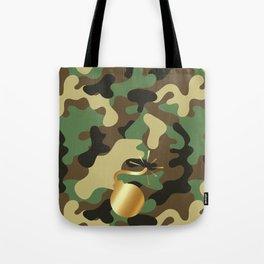 CAMO & GOLD BOMB DIGGITY Tote Bag