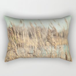 Marsh Grasses Rectangular Pillow