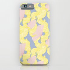 Spotted Fan & Trailing Hair // Pink & Yellow Pastels Slim Case iPhone 6s