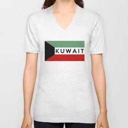 flag of Kuwait Unisex V-Neck