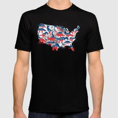 Battleground Black Mens Fitted Tee SMALL