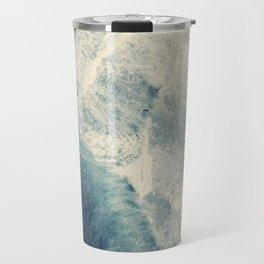 Ice Blue Surf Travel Mug