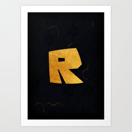Roblox Art Print