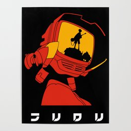 Canti - FLCL Poster