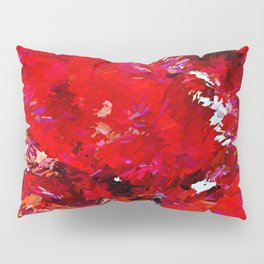 Red Rocks Abstract Pillow Sham