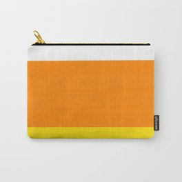 Candy Corn Color Block Carry-All Pouch