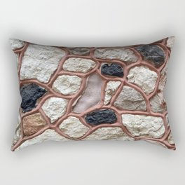 Stone Design Rectangular Pillow