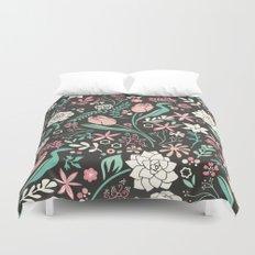 Tulip flowerbed Duvet Cover