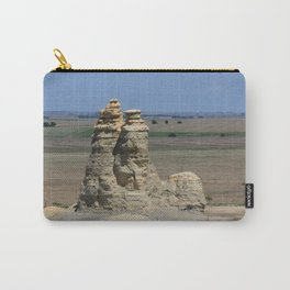 Castle Rock with blue sky Carry-All Pouch