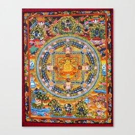Mandala Buddhist 2 Canvas Print