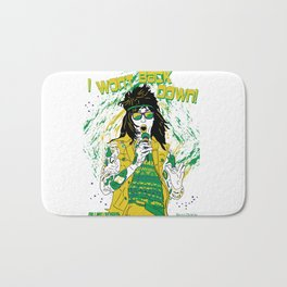 Falling in Reverse-Brazil Ronnie White Bath Mat