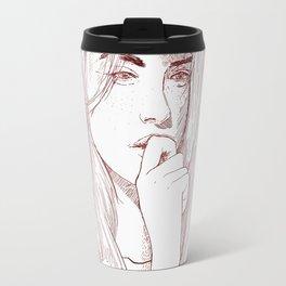 Thoughts Travel Mug