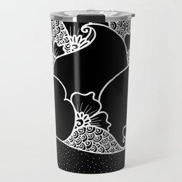Amphora - Black White Travel Mug