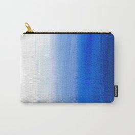 Dip dye background in ultramarine blue Carry-All Pouch