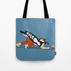 Little Woodpecker Tote Bag