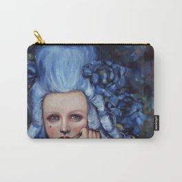 Blue Wig Carry-All Pouch
