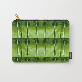 A spoon filled pattern of spoons. Carry-All Pouch
