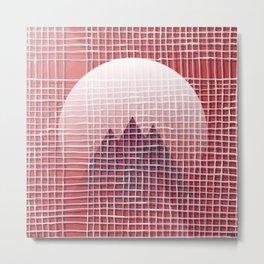 Left - mountains Metal Print