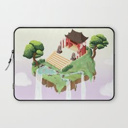 Temple in the sky Laptop Sleeve