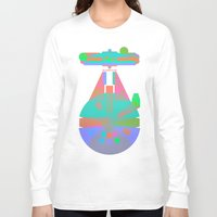 millenium falcon Long Sleeve T-shirts featuring Falcon by Fimbis