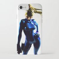 samus iPhone & iPod Cases featuring Samus by Pauline French